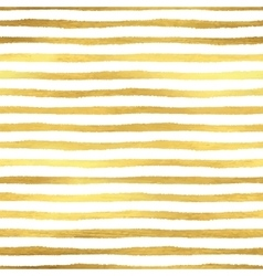 Geometric golden stripes seamless pattern vector