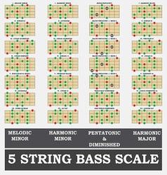 Bass tutor part 2 vector