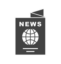 International newspaper vector