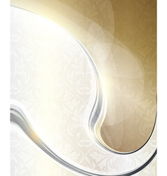 Metal swirl background vector