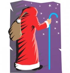 Santa vector image vector image