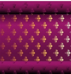 Seamless dark purple wallpaper vector