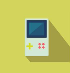 flat tetris icon vector image