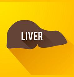 Medical internal organ background vector