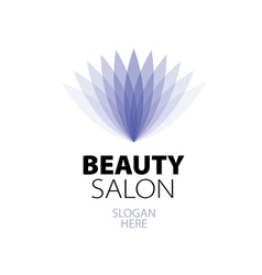 Abstract logo for beauty vector