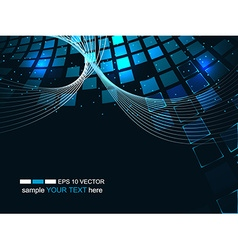 Abstract technology futuristic background business vector image vector image
