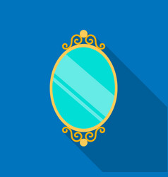 Mirror icon of for web and vector