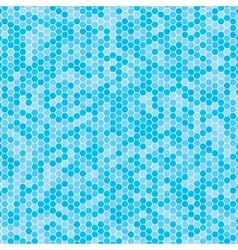 Multicoloured hex tiles mosaic eps 10 vector