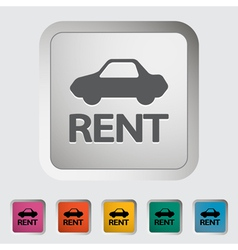 Car for rent vector
