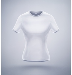 Womens T-Shirt vector image