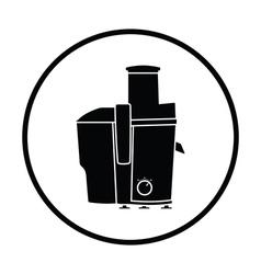 Juicer machine icon vector