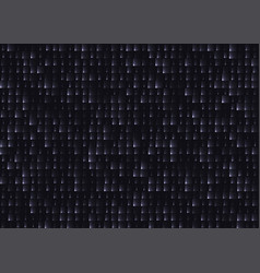 black leather tile seamless background with light vector image