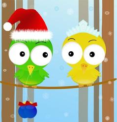 christmas mood vector image vector image