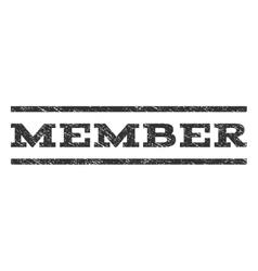 Member watermark stamp vector