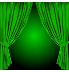 Theatre curtain vector