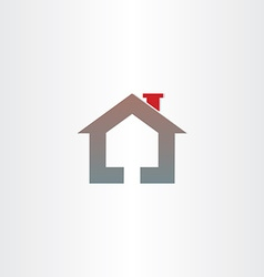 Real estate house icon design vector