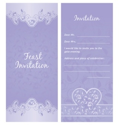 feastinvitation background vector image