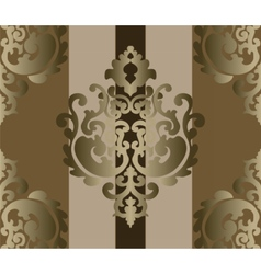 Classic style ornament damask background vector