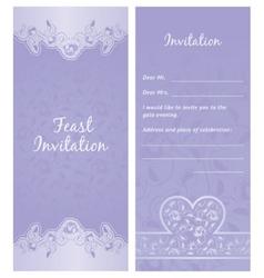 feastinvitation background vector image vector image