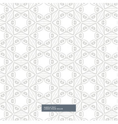 Abstract geometric shapes gray pattern background vector