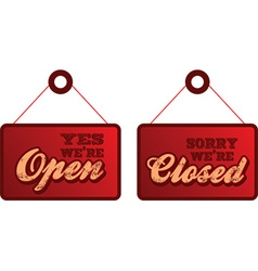 Open closed vector