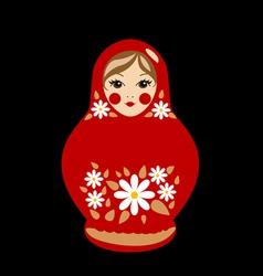 Babushka doll vector