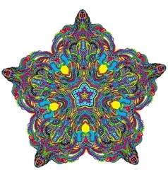 DoodleGerl-18-7 vector image vector image
