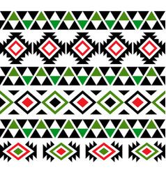 Hawaiian tribal seamless pattern design vector