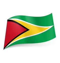 State flag of Guyana vector image