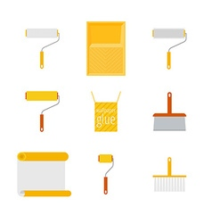 Home repair flat icons vector