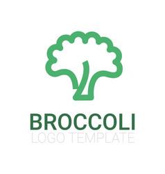 Broccoli icon vector