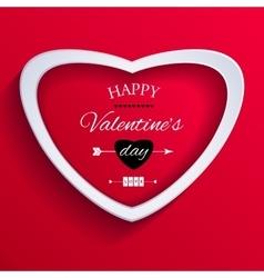 Happy Valentine Day Card vector image