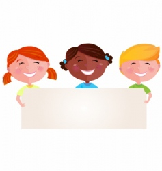 kids vector image