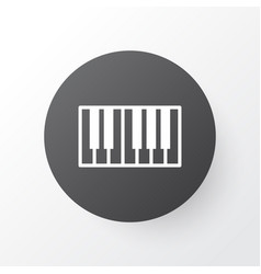synthesizer icon symbol premium quality isolated vector image