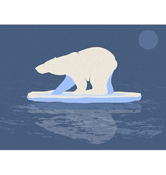 Polar Bear vector image