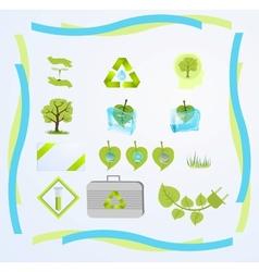 green tech vector image