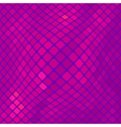 Abstract pink square background vector