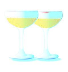 celebration champagne vector image vector image