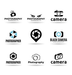 Icons For Photographers vector image