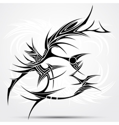 Tattoo tribal vector image vector image