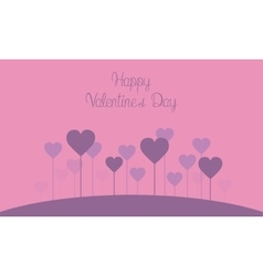 Valentine theme collection vector
