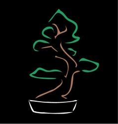 Bonsai vector