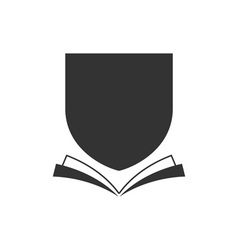 Book-Crest-380x400 vector image