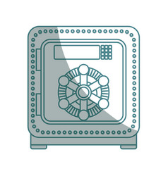Isolated security box vector