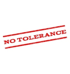 No tolerance watermark stamp vector