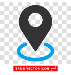 Geo targeting eps icon vector
