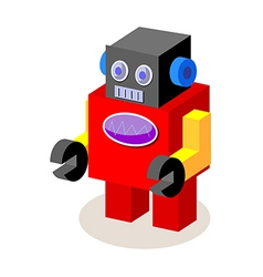 Icon robot vector