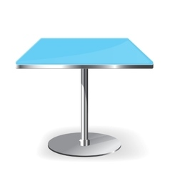 Empty rectangle table vector