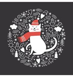 Christmas christmas card vector