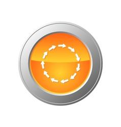 cycle button vector image